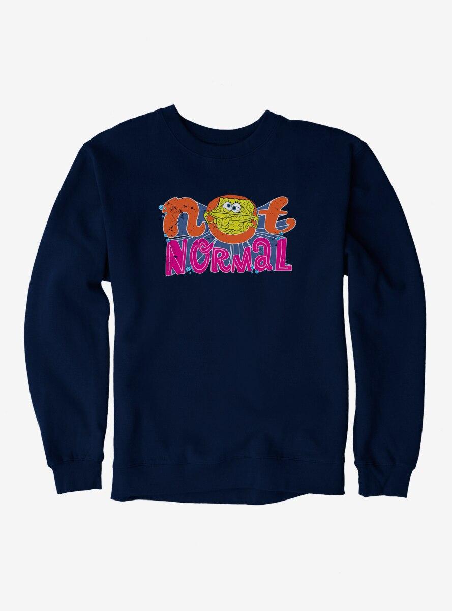 SpongeBob SquarePants Not Normal Sponge Sweatshirt