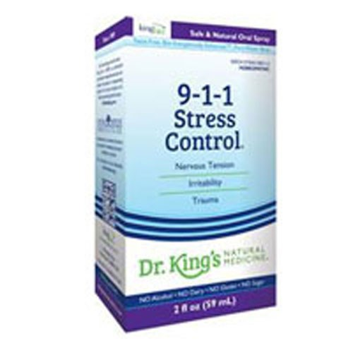 911 Stress Control 2oz by King Bio Natural Medicines