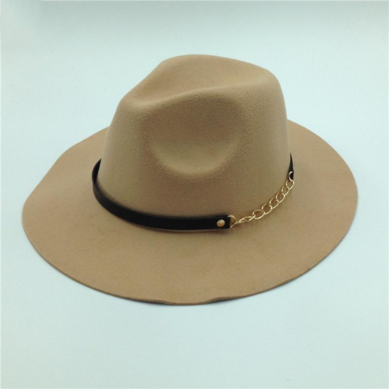 Ericdress Fedora Wool Blends Plain Winter Hats