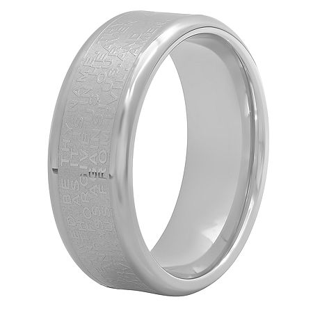 8MM Stainless Steel Band, 8 1/2 , No Color Family