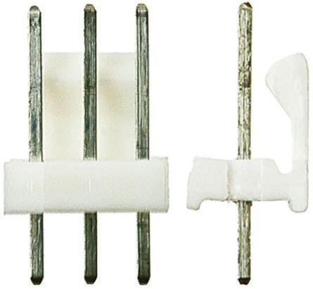 TE Connectivity , MTA-100, 5 Way, 1 Row, Straight PCB Header