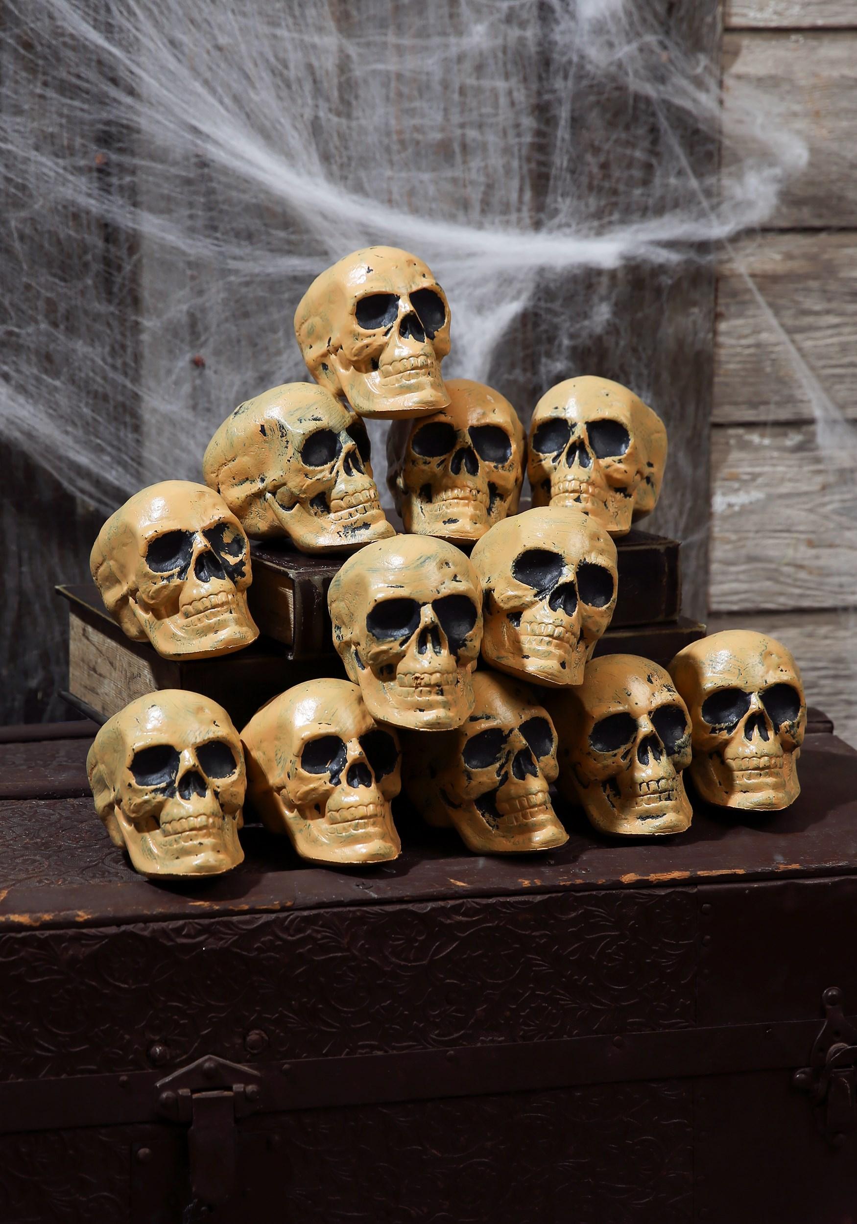 Twelve Piece Bag of Skulls