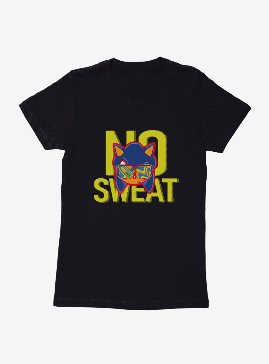 Sonic The Hedgehog Summer No Sweat Womens T-Shirt