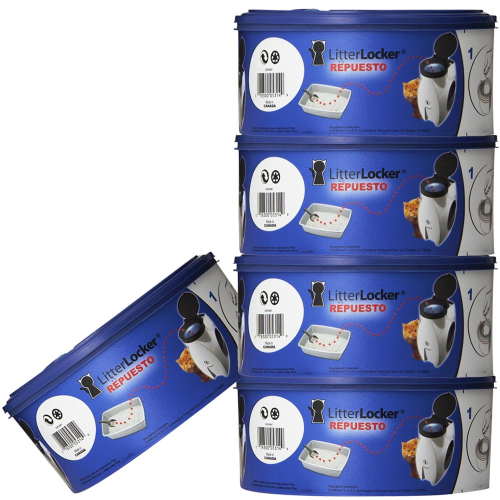 5 Pack Litter Locker Refill Cartridge