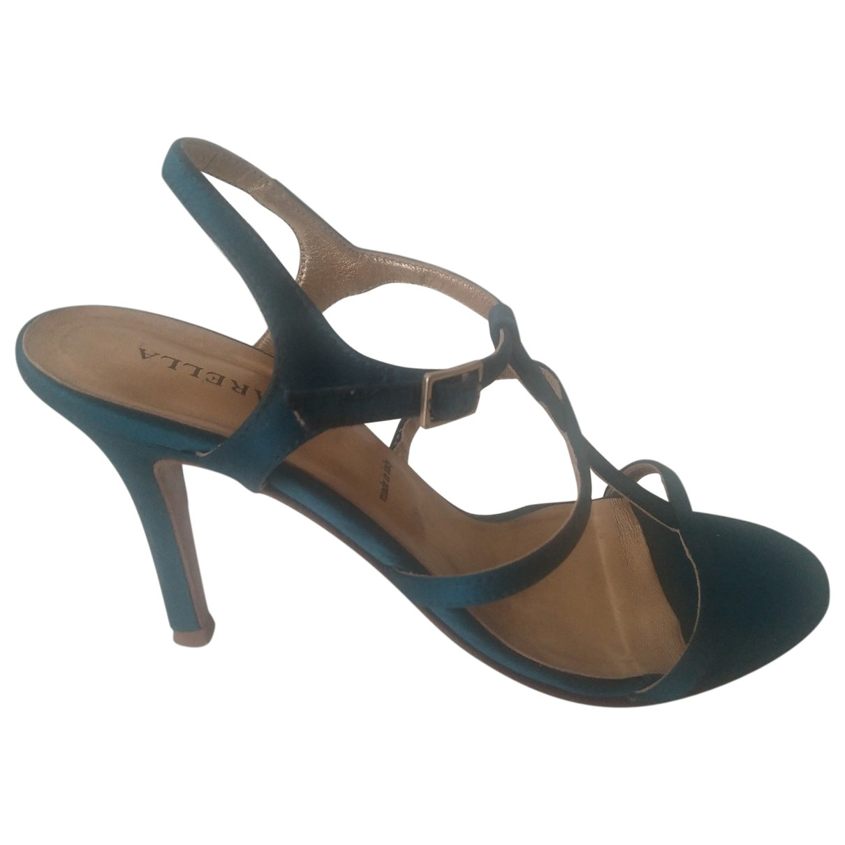 Marella \N Green Cloth Sandals for Women 36 IT
