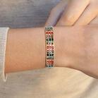 Adjustable Hand-Woven Crystal Bracelet