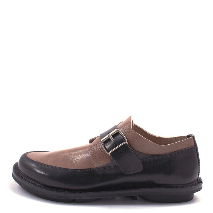 Trippen, Transform m Closed Men's Slip-on Shoes, black-brown Gre 42