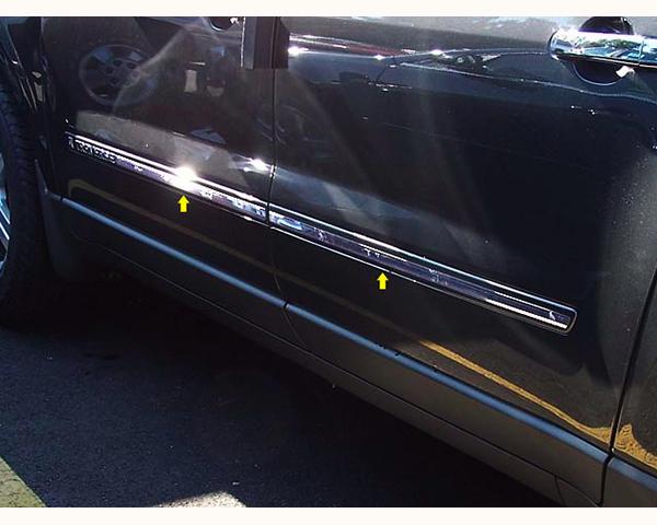 Quality Automotive Accessories 4-Piece Rocker Panel Accent Trim Kit Chevrolet Traverse 2010