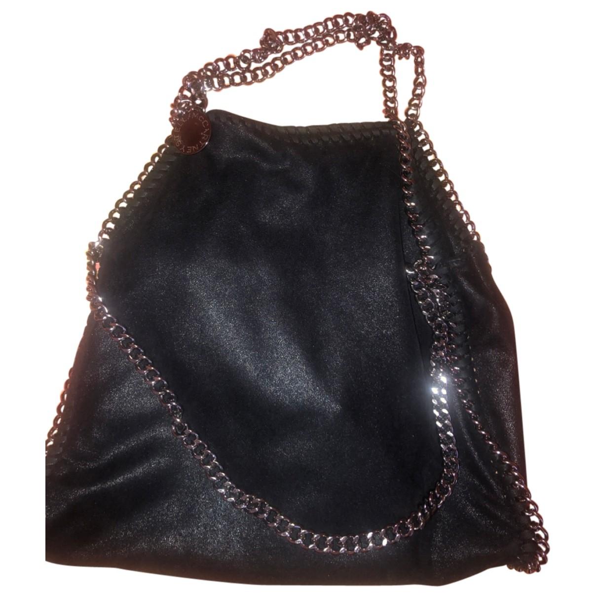 Stella Mccartney Falabella Black Cloth handbag for Women \N