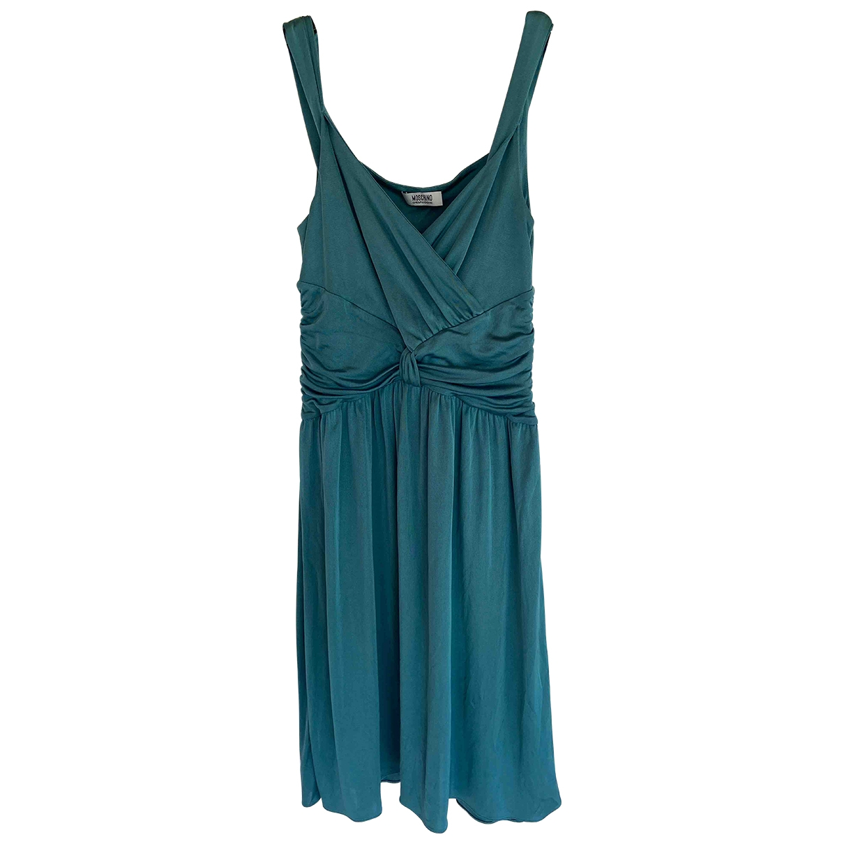 Moschino Cheap And Chic \N Turquoise Silk dress for Women 44 IT