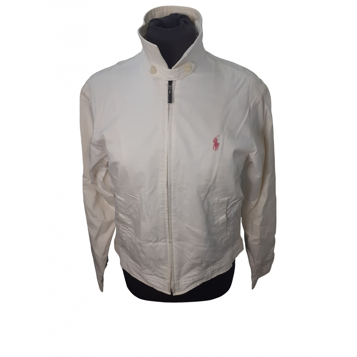 Non Signé / Unsigned \N White Cotton jacket for Women S International