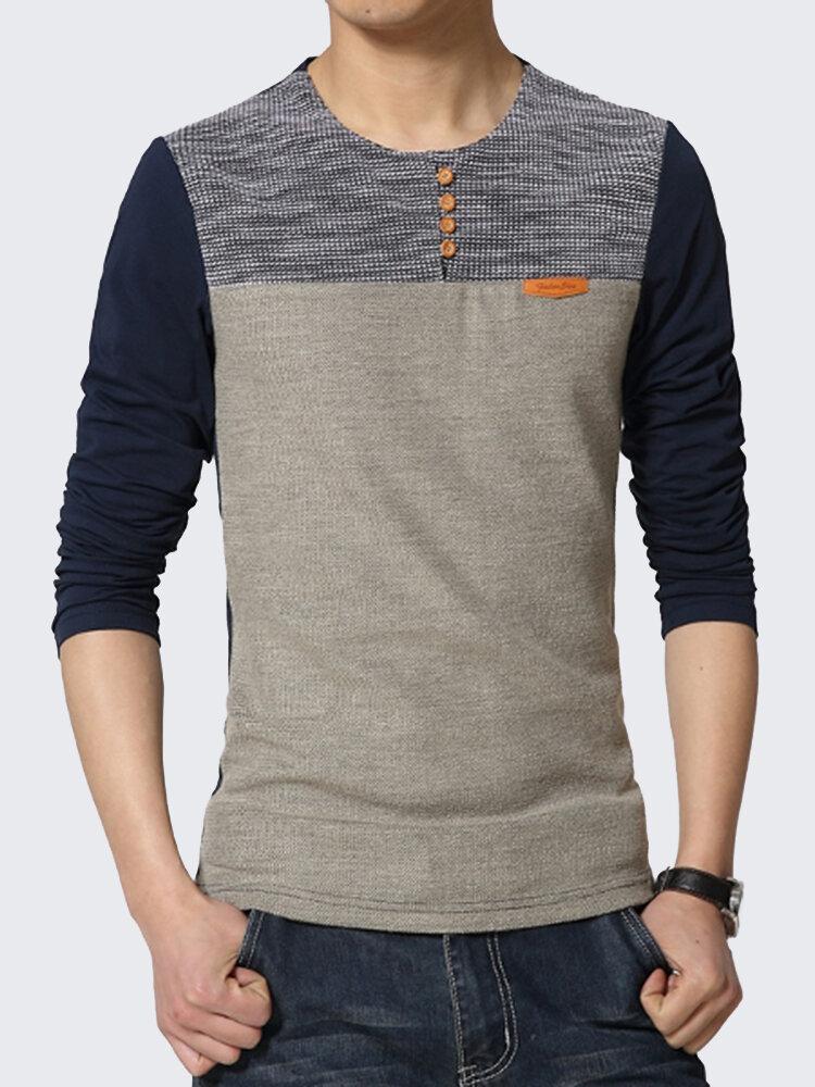Mens Oversize Fashion Casual Half Sleeve O-Neck T-shirt