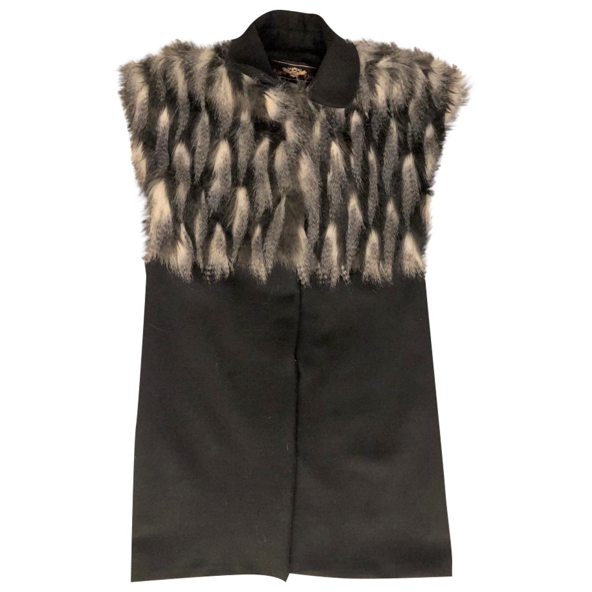 Non Signé / Unsigned \N Multicolour Faux fur coat for Women 38 FR