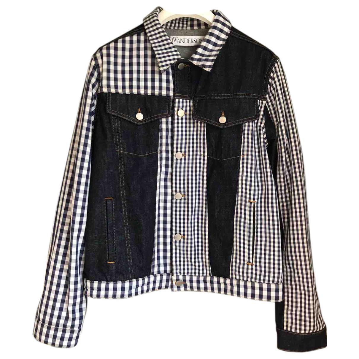 J.w. Anderson \N Navy Denim - Jeans jacket  for Men 40 UK - US
