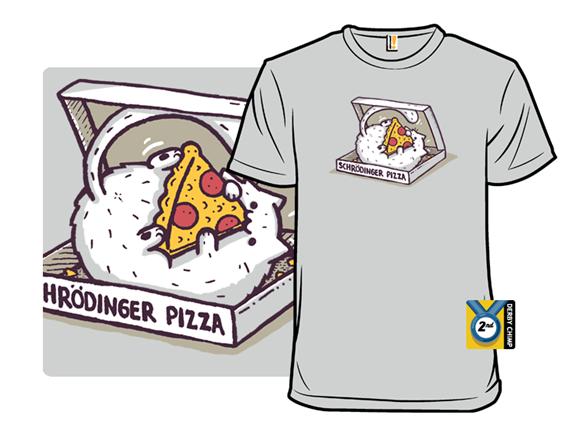Schrödinger Pizza T Shirt