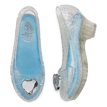 Disney Collection Cinderella Costume Shoes, 2-3 , Blue