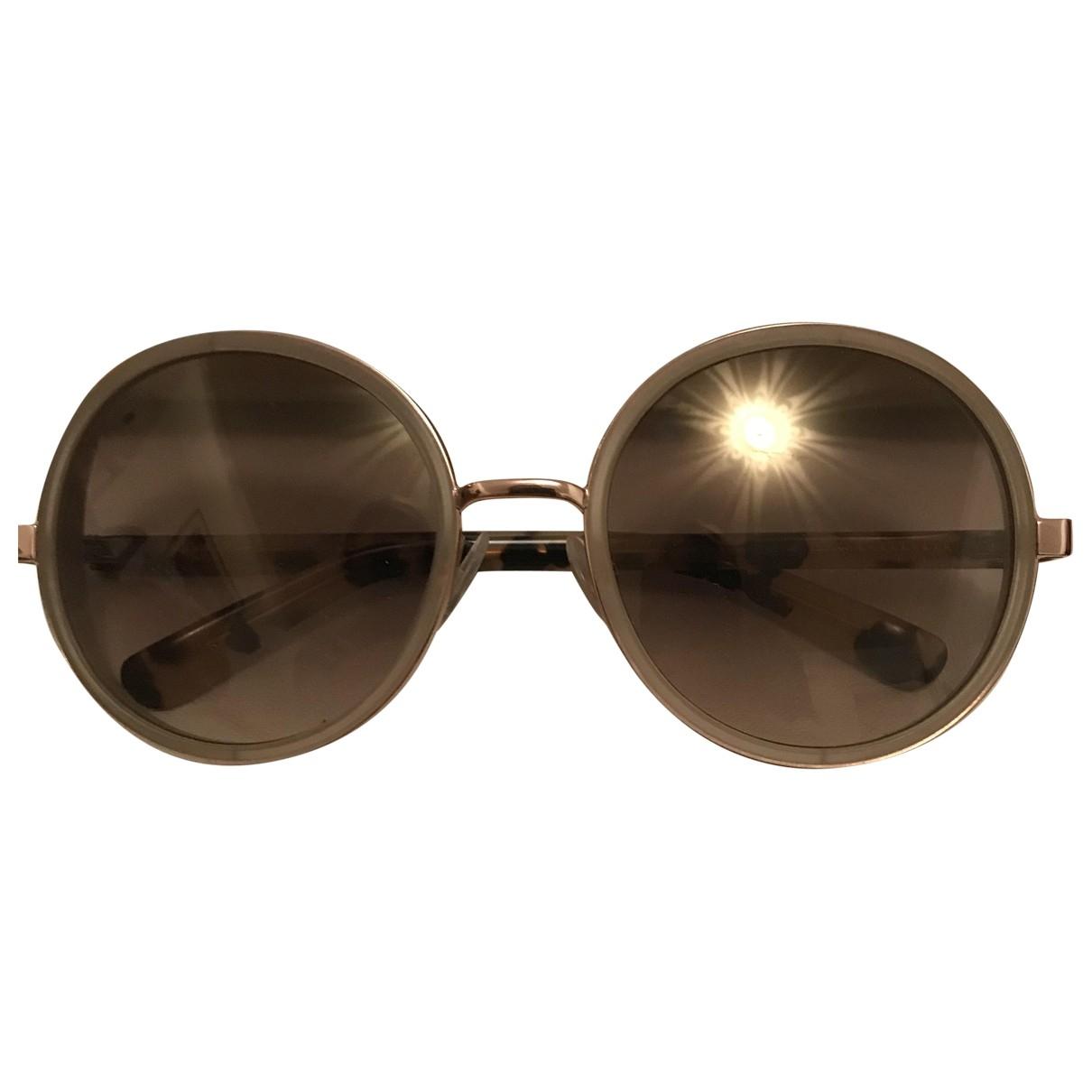Jimmy Choo \N Beige Sunglasses for Women \N