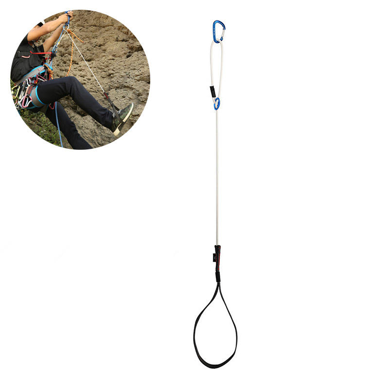 XINDA Climbing Safety Belt Mountaineering Rock Foot Rope Ascender Riser Equipment Climbing Rope Protection
