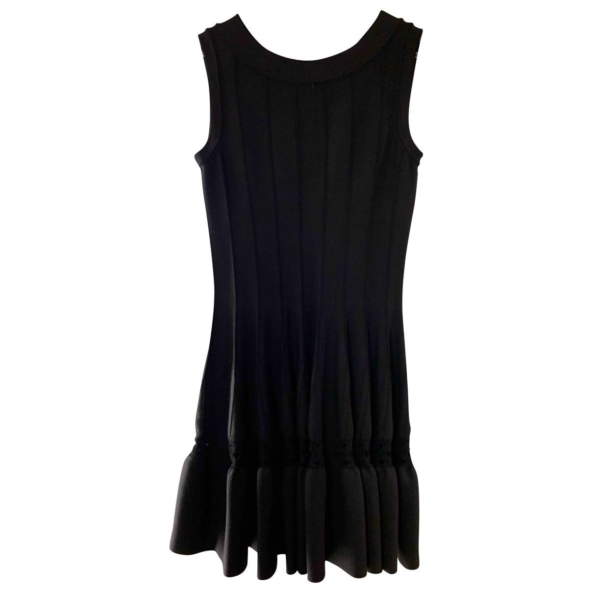 Alaïa \N Black Wool dress for Women 42 IT