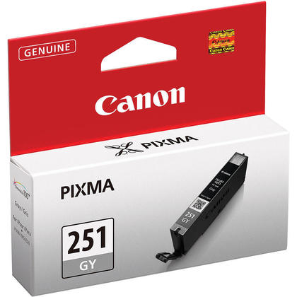 Canon CLI-251GY Original Gray Ink Cartridge