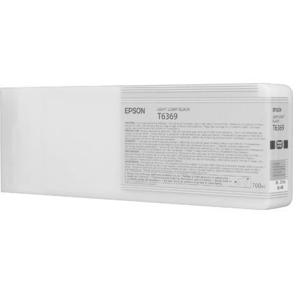 Epson T636900 700ml Original Light Light Black Ink Cartridge High Yield