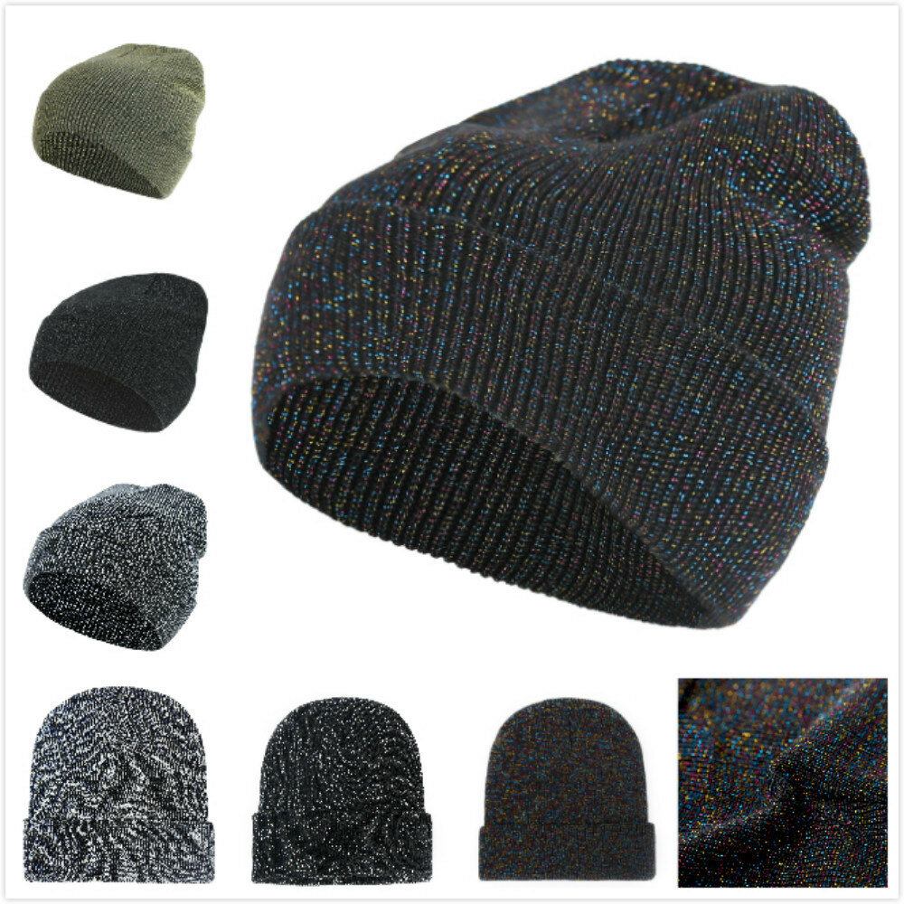 Women Men Winter Star Knitting Ski HatOutdoor Warm Retro Cuffed Acrylic Beanie Hat