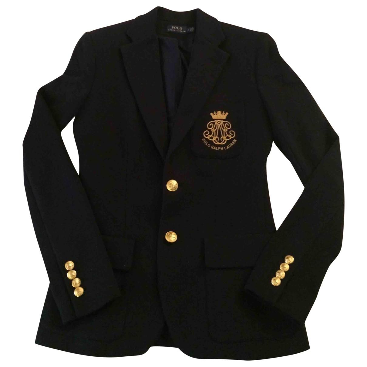 Polo Ralph Lauren \N Blue Cotton jacket for Women M International
