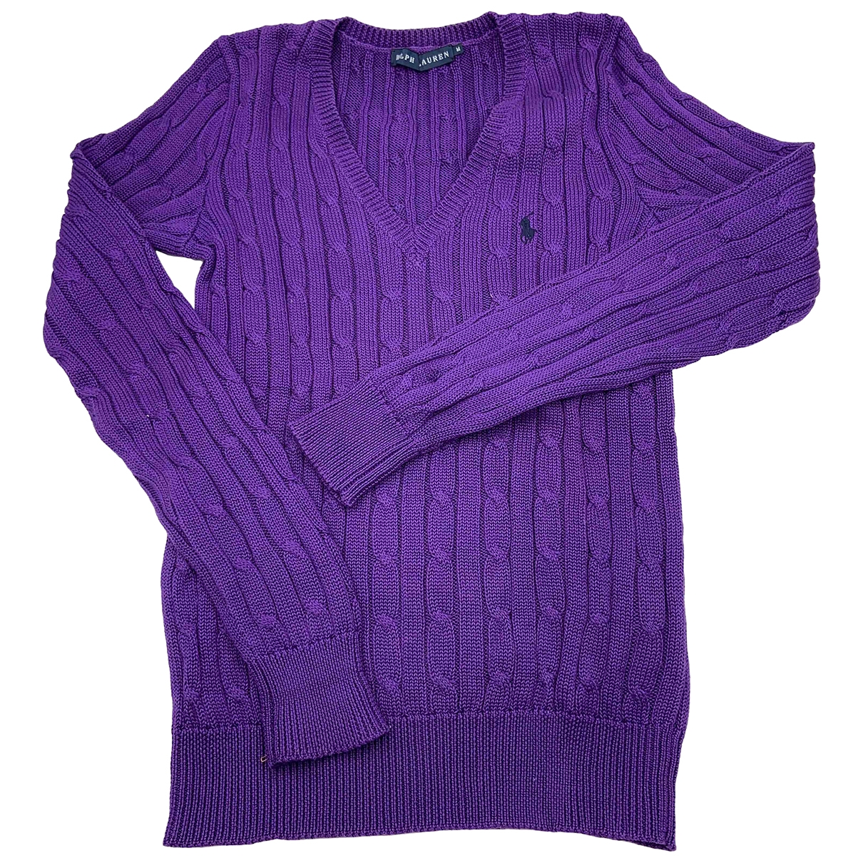 Ralph Lauren \N Purple Cotton Knitwear for Women M International