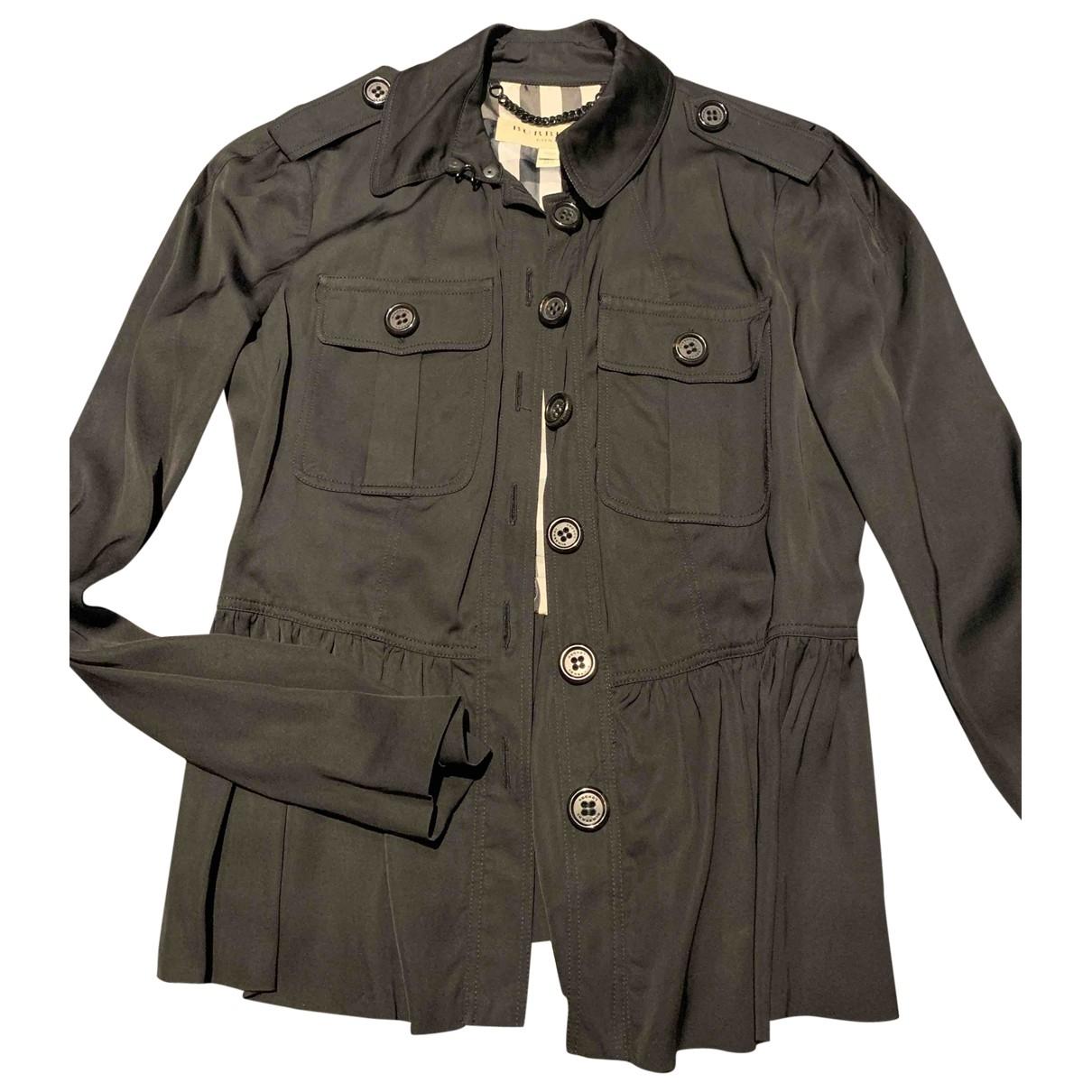 Burberry \N Black jacket for Women 38 IT
