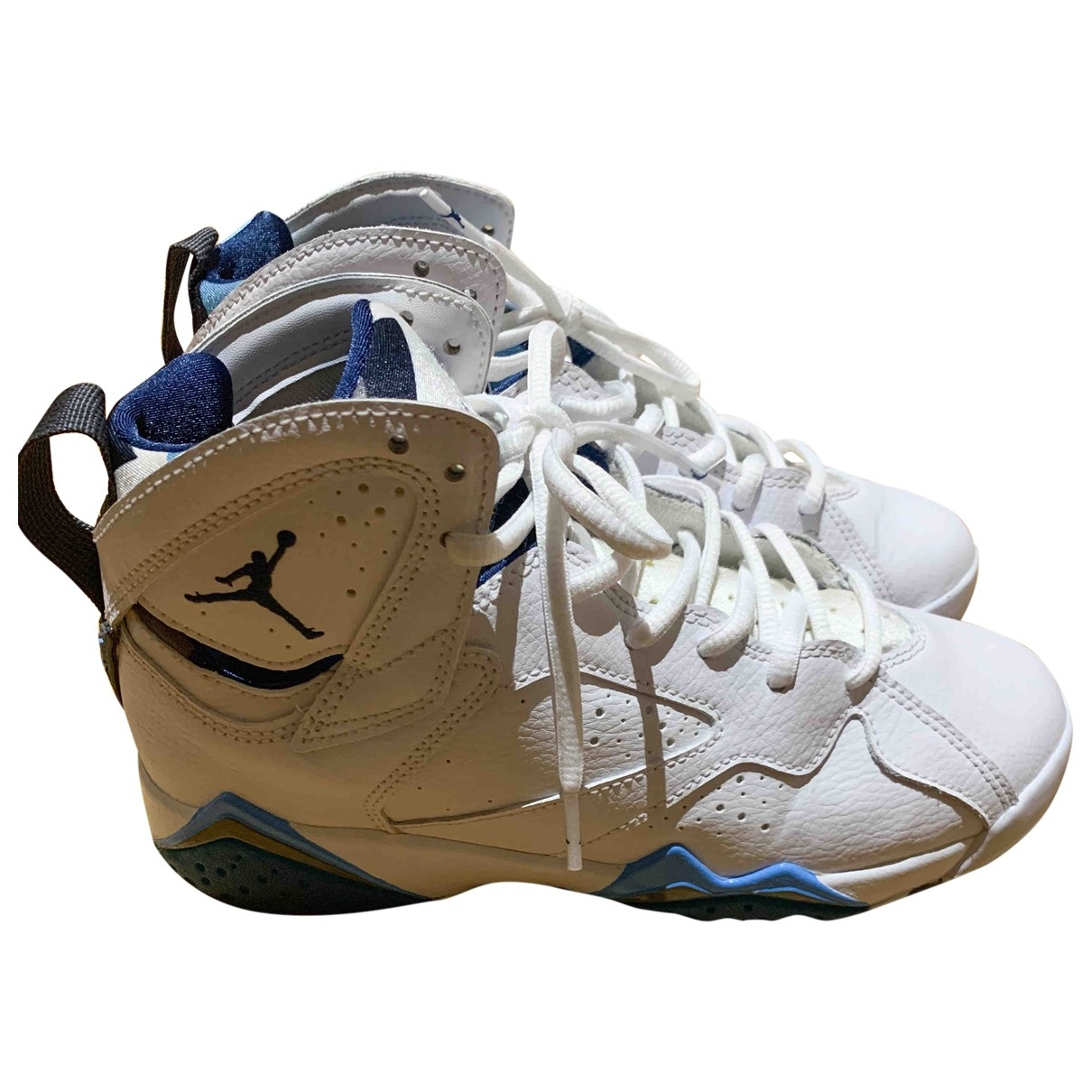 Jordan Air Jordan 7 White Leather Trainers for Women 36.5 EU
