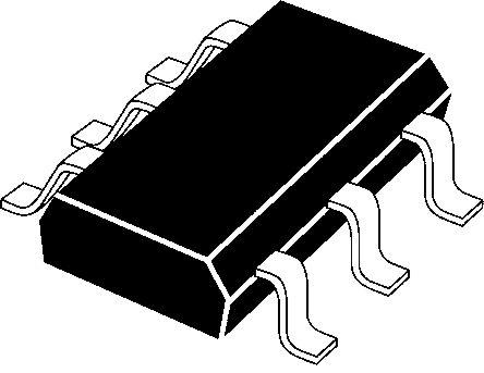 Nexperia BCM856BS,115 Dual PNP Transistor, 100 mA, 65 V, 6-Pin SOT-363 (25)