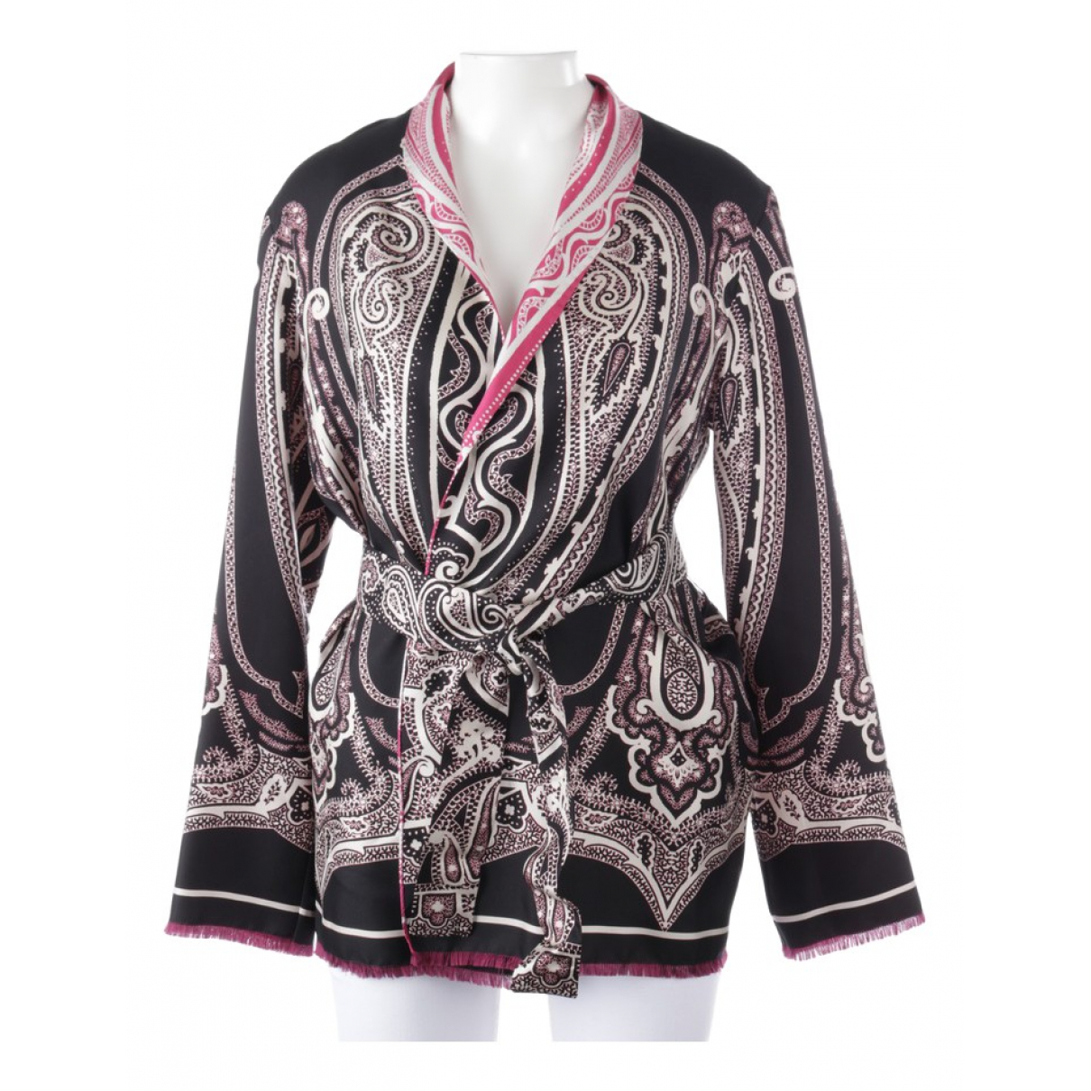 Etro \N Multicolour Silk  top for Women 38 FR