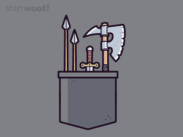 Weapon Chest T Shirt