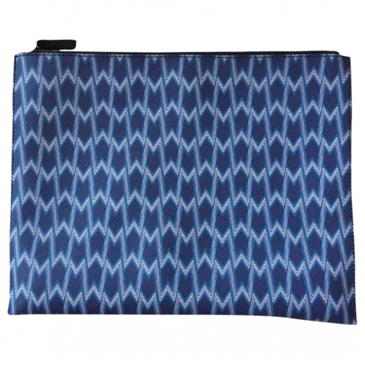 Maje \N Blue Leather Purses, wallet & cases for Women \N