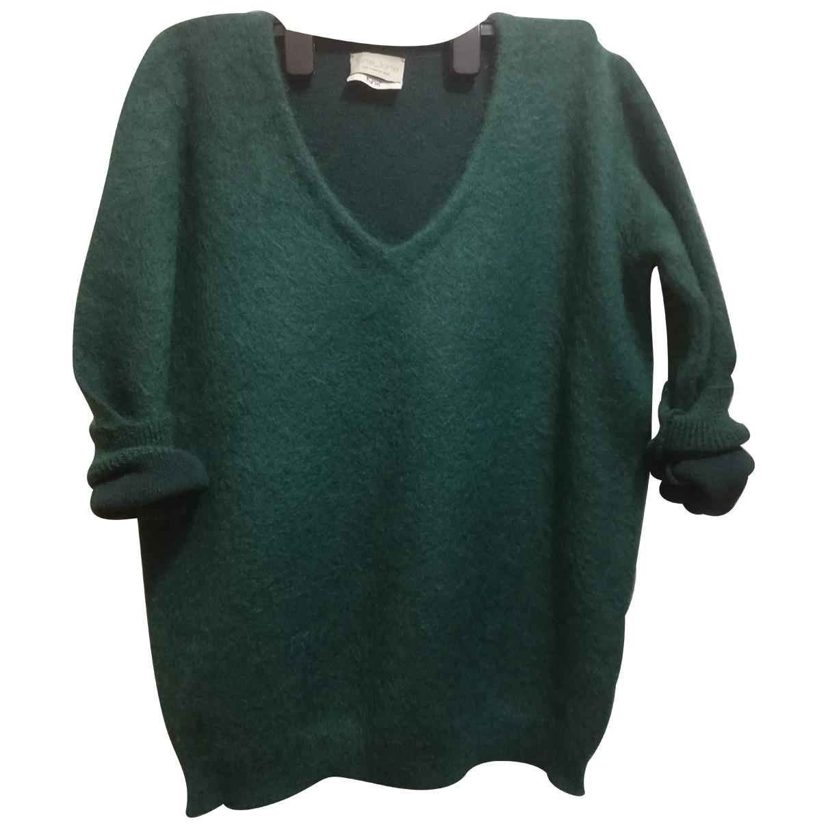 Forte_forte N Green Wool Knitwear for Women 38 FR