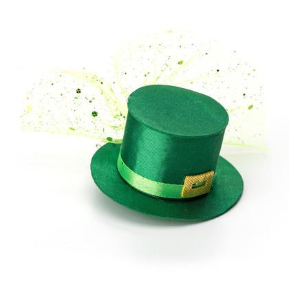 Pince à cheveux chapeau de St.Patrick