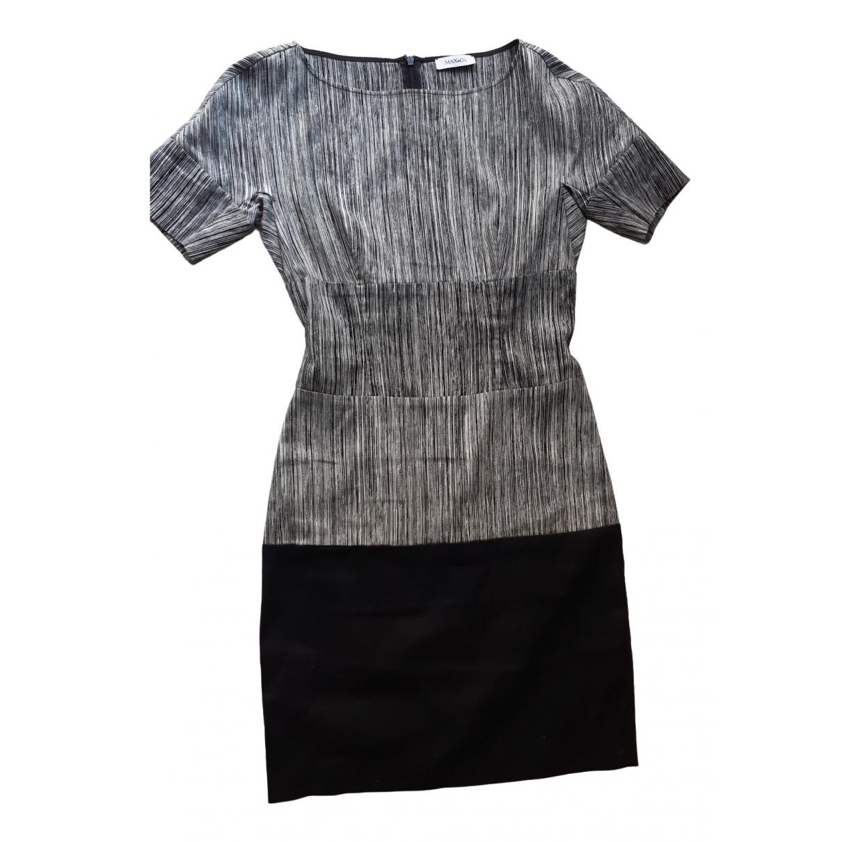 Max & Co \N Black Cotton - elasthane dress for Women 42 IT