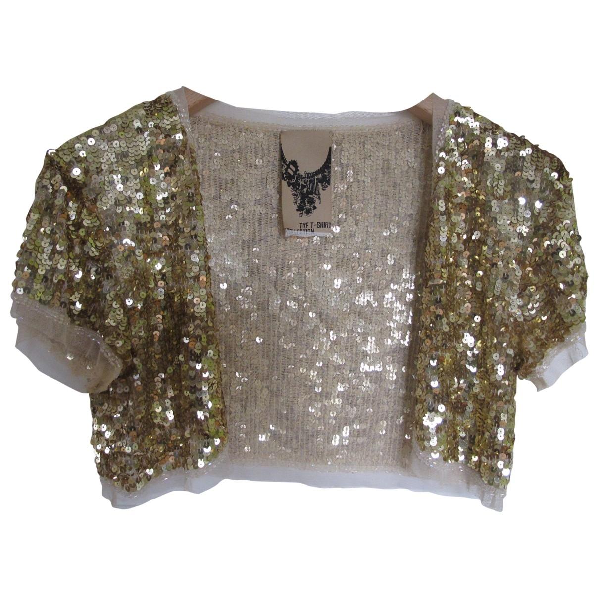 Zara \N Glitter  top for Women 40 IT