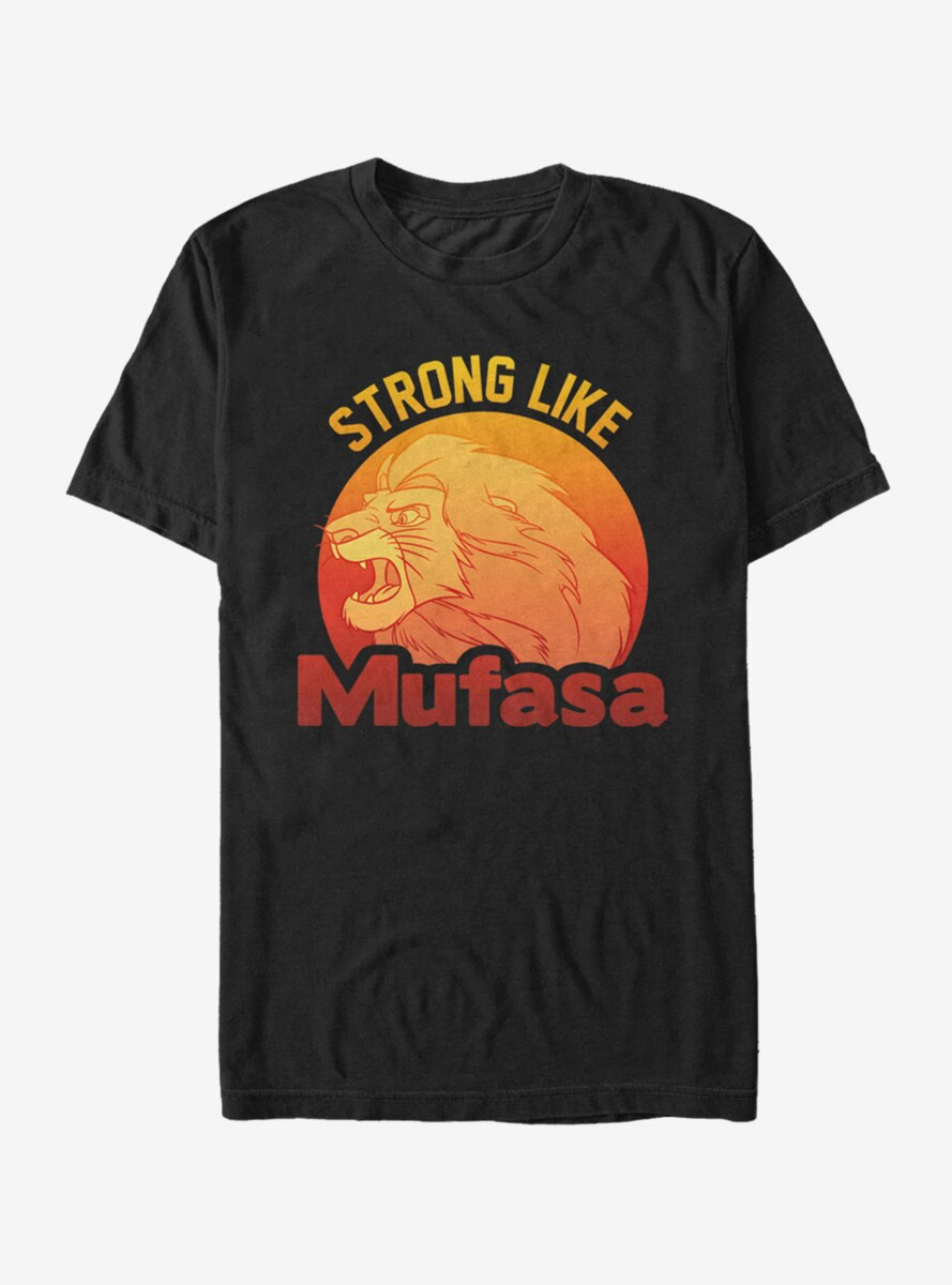 Disney The Lion King Simba Strong Like Mufasa T-Shirt