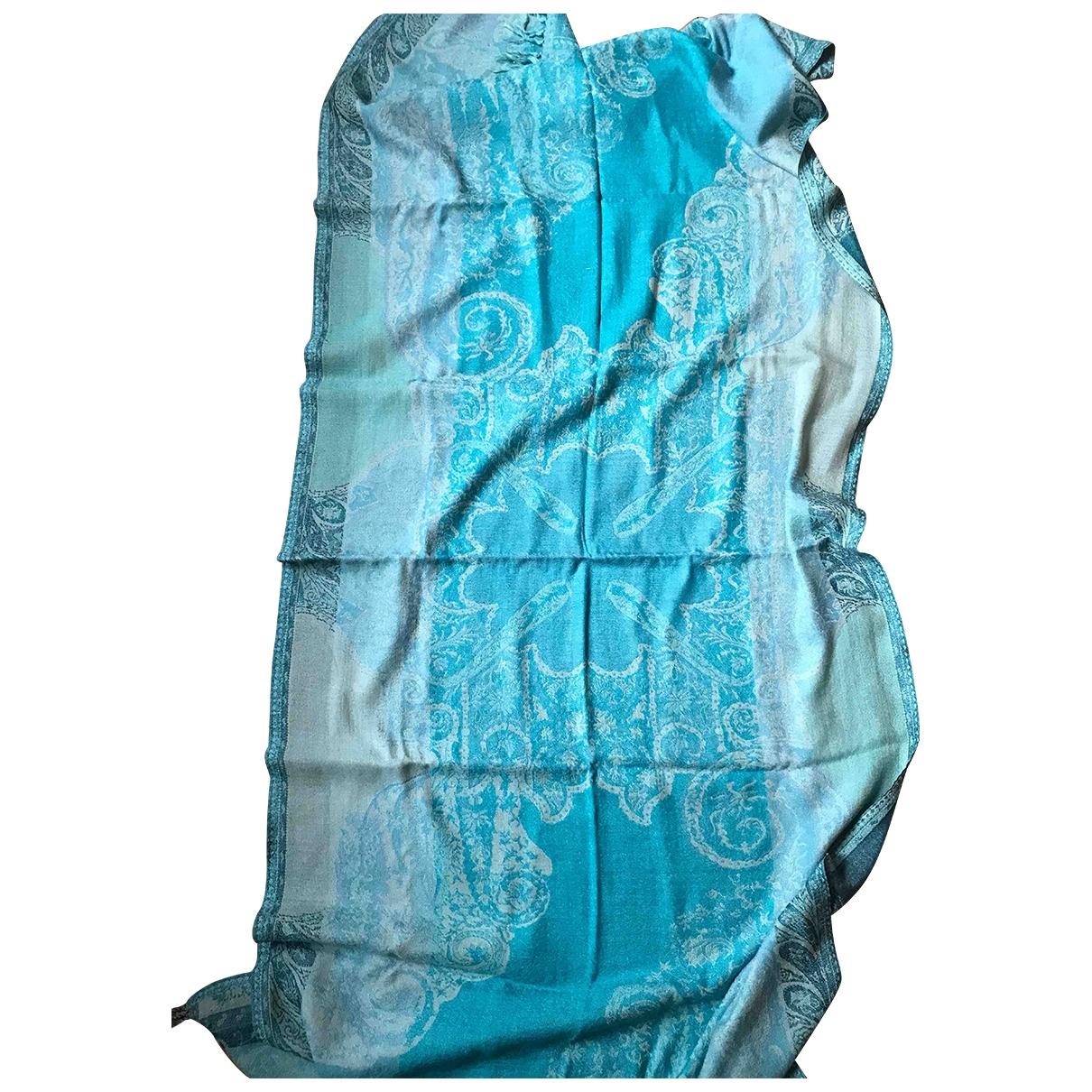 Blumarine \N Turquoise Wool scarf for Women \N
