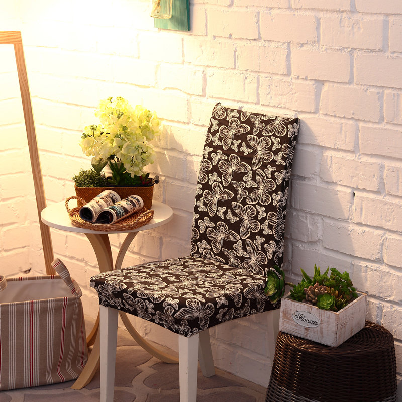 Elegant Noble Spandex Elastic Stretch Chair Seat Cover Computer Dining Room Home Wedding Decor