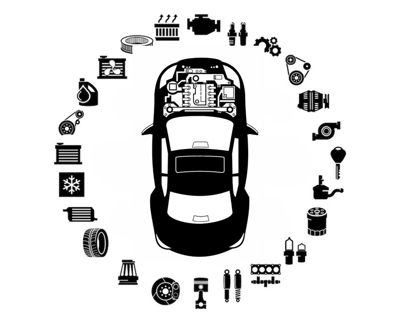 O.E.M. Hood Seal Mercedes-Benz Rear