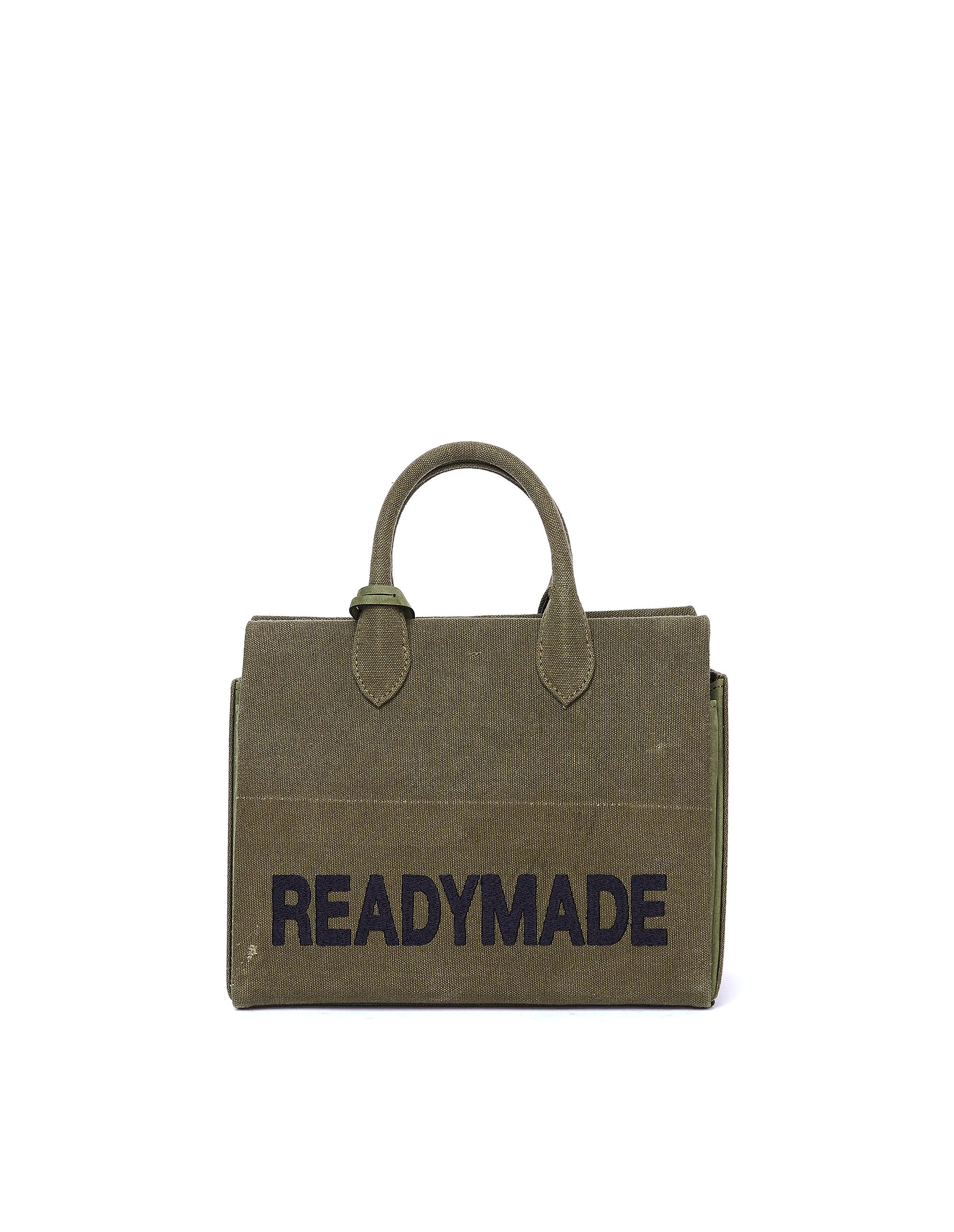 Readymade Khaki Vintage Cotton Bag