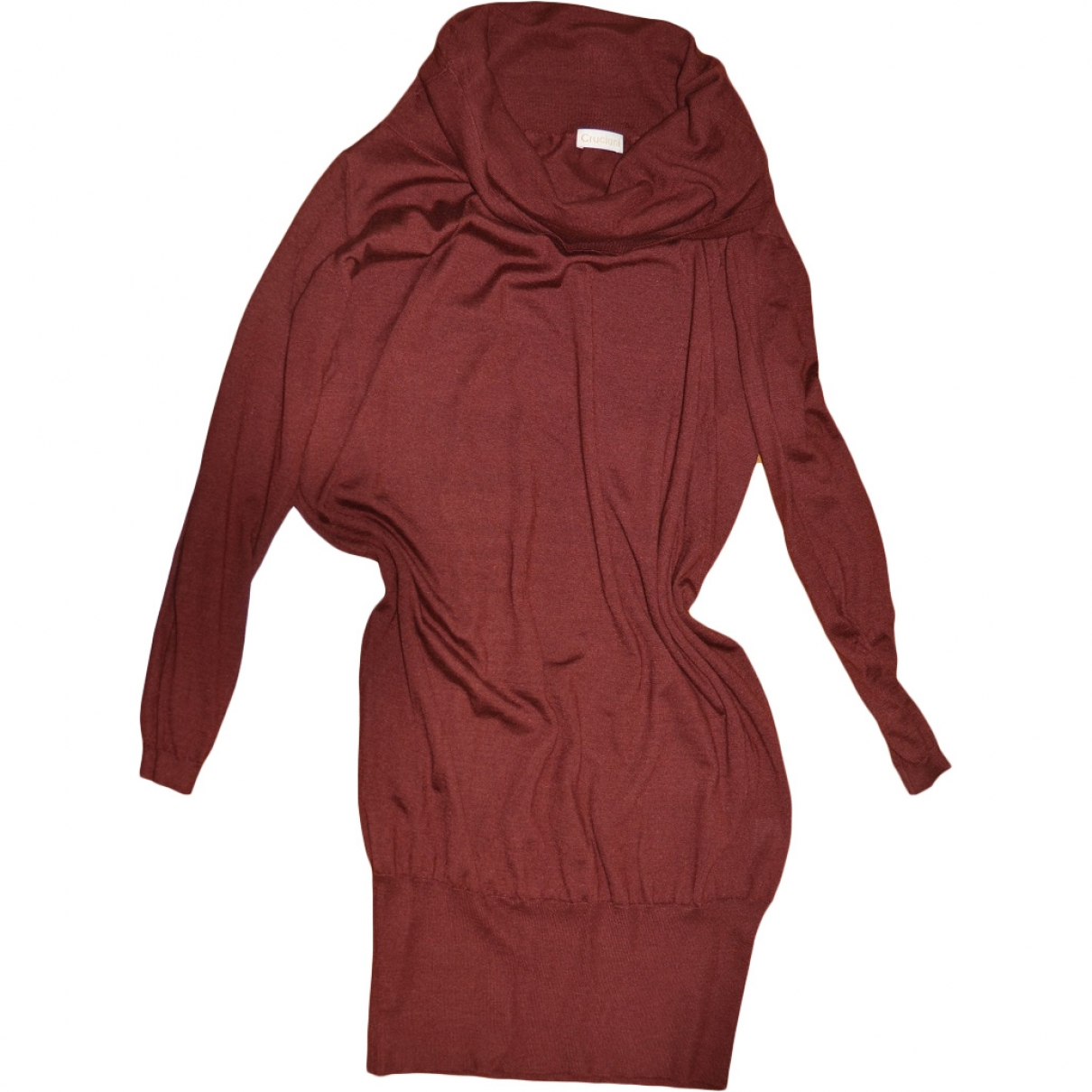 Cruciani \N Burgundy Cashmere dress for Women M International