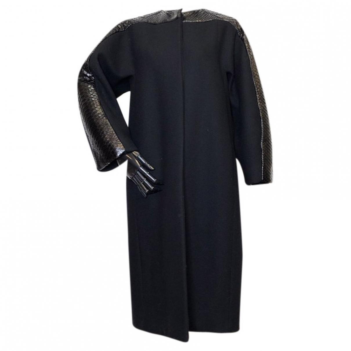 Gucci \N Black Wool coat for Women 38 IT