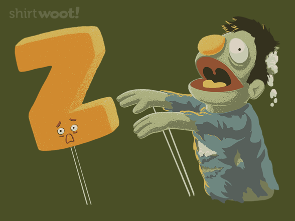 Z Is For Zombie T Shirt