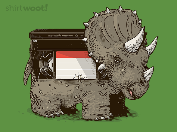 Vhs Triceretops T Shirt