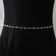 Acrylic Metal Waist Chain
