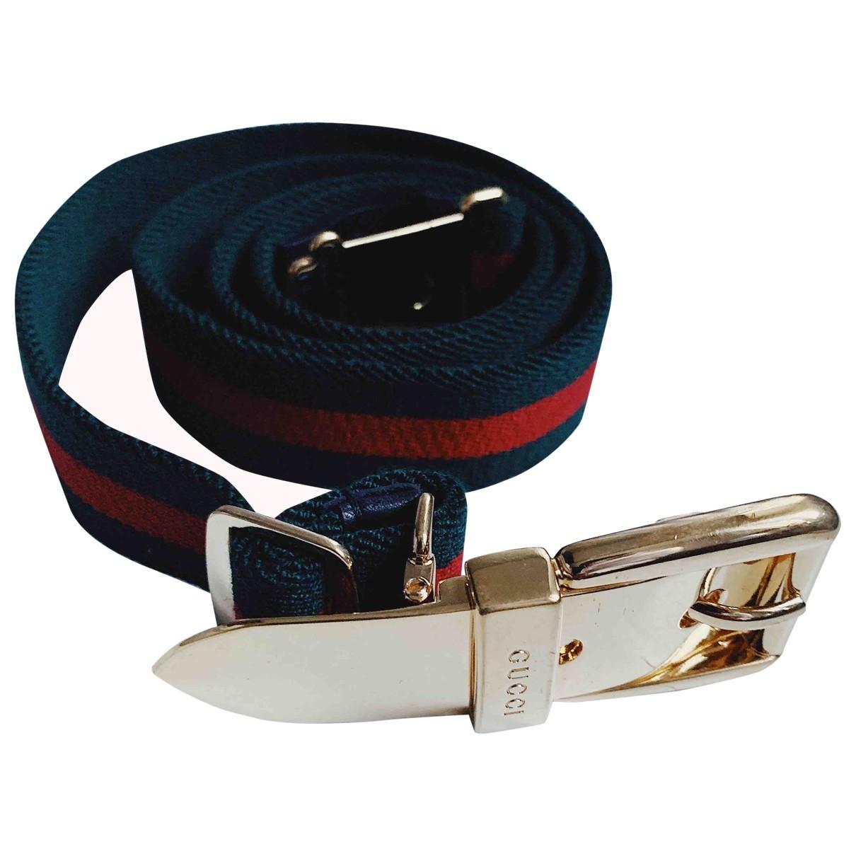 Gucci \N Multicolour Cloth belt for Women 85 cm
