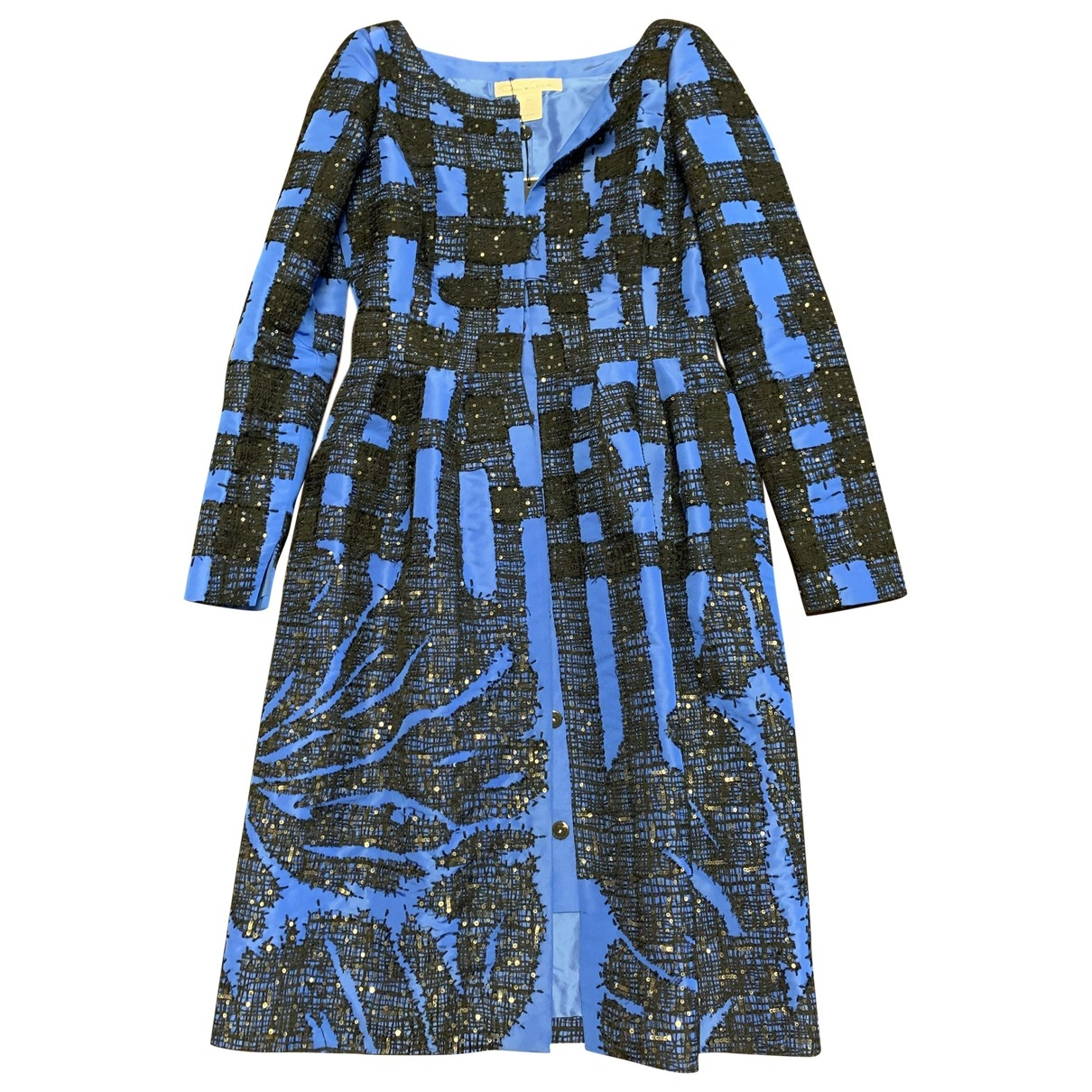 Oscar De La Renta \N Blue coat for Women 4 US
